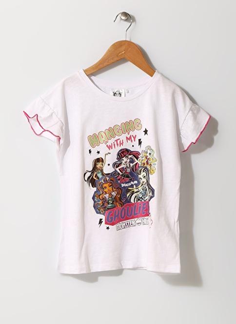 Monster High Tişört Beyaz